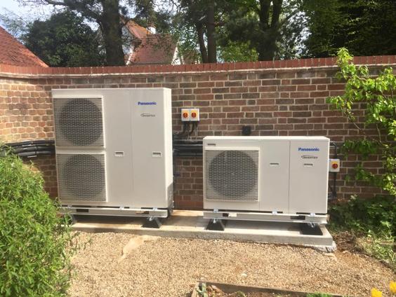 Air Source Heat Pumps Installer Suffolk